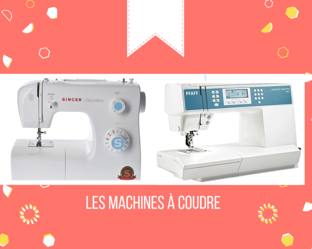 2 machines à coudre